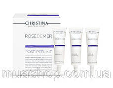 CHRISTINA Rose De Mer-Post-Peel Kit (3 products new) - Набор для постпилингового ухода, 3 продукта