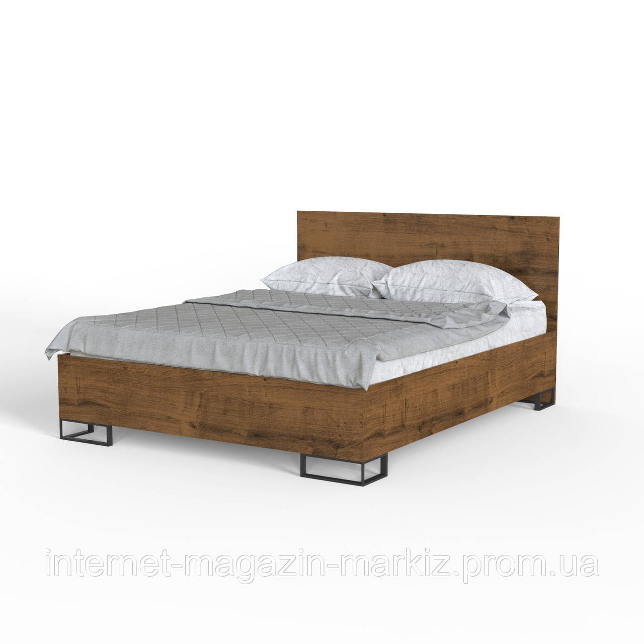 Ліжко Ascet Дуб Саттер