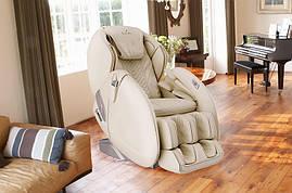 Массажное кресло AlphaSonic II +Braintronics (Премиально белое)