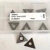 Ніж змінний тб/спл HW 22,0х19,5х2,0 KCR08 Ceratizit (Люксембург)