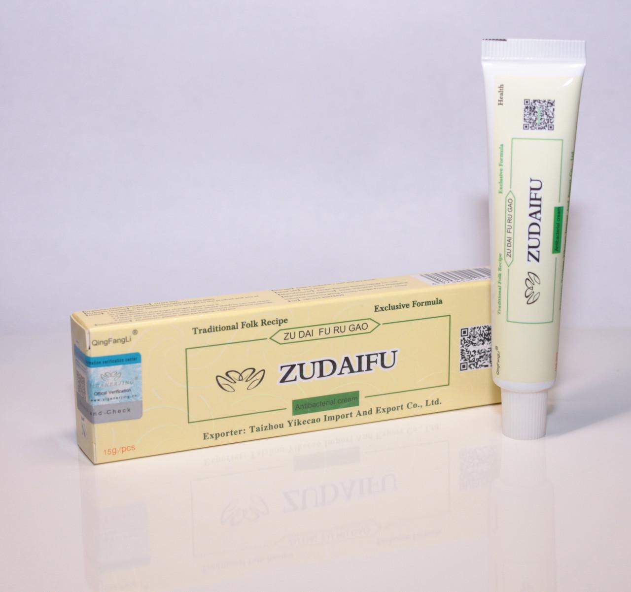 Крем від псоріазу Zudaifu - Негормональная мазь для лікування псоріазу, Китайський крем від псоріазу