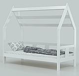 """Детская кровать домик из натурального дерева """"Нико"""" (Луна), фото 3"""