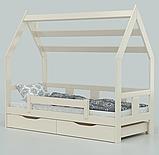 """Детская кровать домик из натурального дерева """"Нико"""" (Луна), фото 4"""