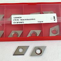 Ніж змінний тв/спл HW  14,0х14,0х2,0 KCR08, ромб Ceratizit (Люксембург), фото 1