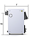Твердотопливный котел ProTech Д Люкс (D Luxe) ТТ - 9с, фото 3
