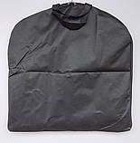 Чехол-сумка для хранения, упаковки и перевозки одежды на молнии флизелиновый 60 х 115 см, фото 2