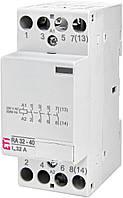 Контактор ETI RA 32-40 32А 230V AC 4NO 2464076 (модульный силовой, 4-полюсный)