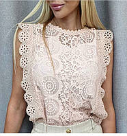 Стильная летняя блузка, женская летняя блузка, фото 1