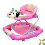 Детские ходунки-качалка M 0535-2-розовые