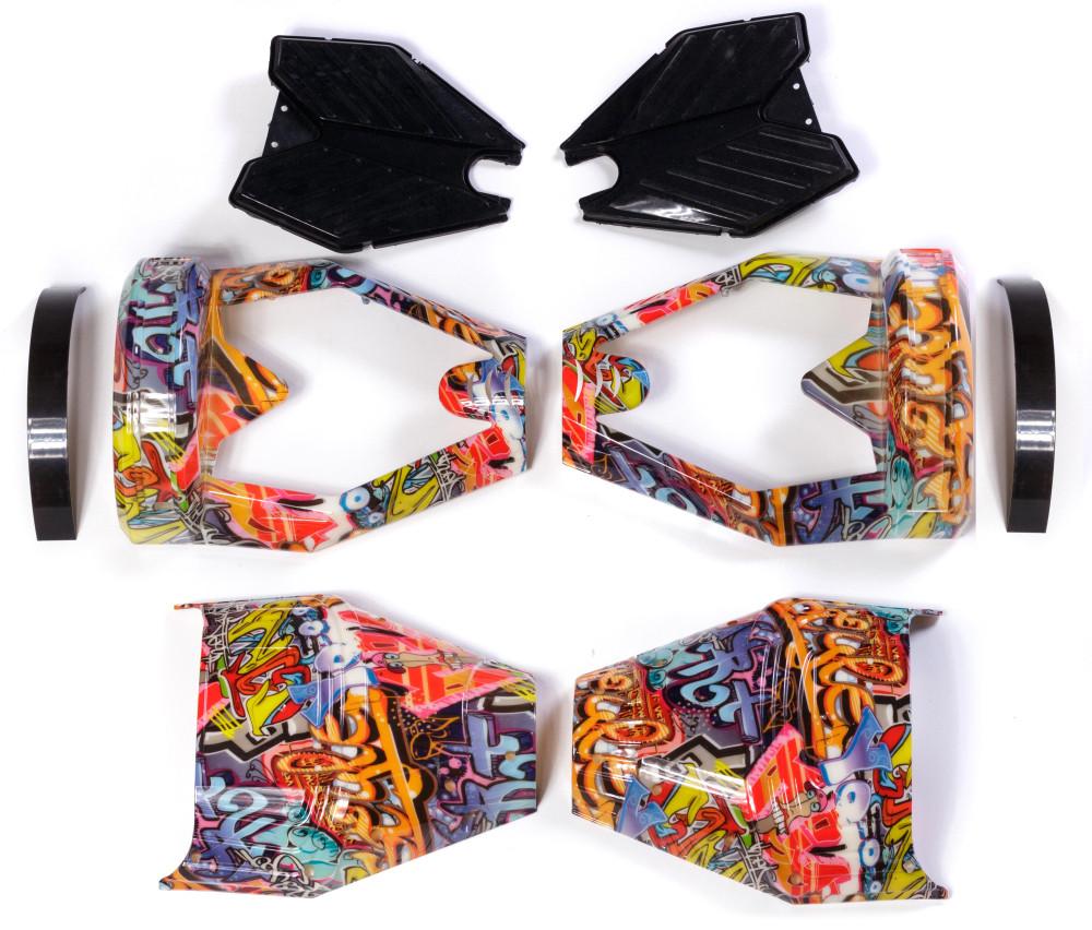 Корпус для гироборда 8 дюймов Hip-hop Miami (Хип-Хоп Оранжевый)