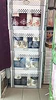 Набор Полотенец Для Лица (2 шт) Бани (2 шт) Рук ( 2шт) в Коробке Семейный На Подарок Хлопок Махровые Турция