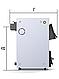 Твердотопливный котел ProTech D Luxe ТТ-12 кВт укомплектован термометром с погружным термобаллоном, фото 3