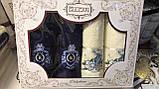 Набір Рушників Для Особи (2 шт) Лазні (2 шт) в Коробці Сімейний Подарунок Бавовна Махрові Туреччина, фото 2