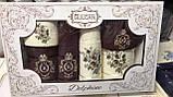 Набір Рушників Для Особи (2 шт) Лазні (2 шт) в Коробці Сімейний Подарунок Бавовна Махрові Туреччина, фото 3