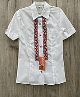 Котоновая блузка для девочек. 152 рост