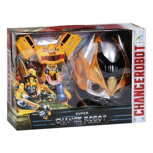 """Трансформер """"Бамблби"""" с маской Transformer bumblebee"""