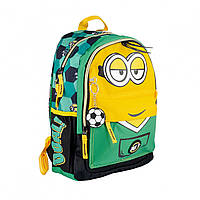 Детский рюкзак Миньоны Minions с брелком для садика, школы и прогулок
