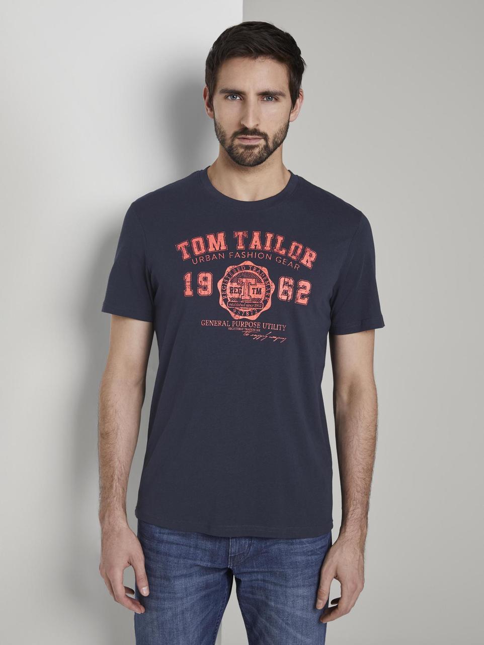 Футболка Tom Tailor 1020512 L Темно-синий