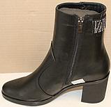 Ботинки женские кожаные зима от производителя модель БМ344, фото 6