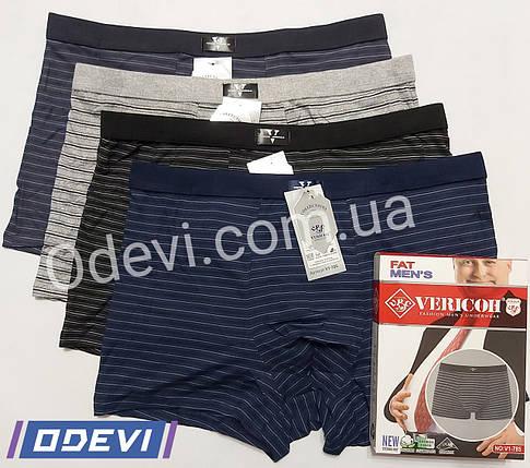 Труси баталов фірми Vericoh бавовна з бамбуком ціна за упаковку, фото 2