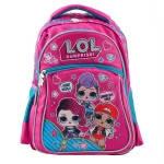 """Детский школьный рюкзак ЛОЛ """"Juicy"""" для девочек: ортопедический, каркасный, для 1-4 класса"""