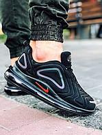 Кроссовки мужске Nike Air 720 черные Black