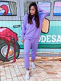 Костюм женский спортивный молодежный, высокое качество, стиль оверсайз, разные цвета р.хs, s, м, л Код 017И, фото 3