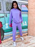 Костюм женский спортивный молодежный, высокое качество, стиль оверсайз, разные цвета р.хs, s, м, л Код 017И, фото 2