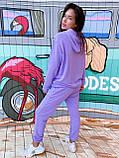 Костюм женский спортивный молодежный, высокое качество, стиль оверсайз, разные цвета р.хs, s, м, л Код 017И, фото 4
