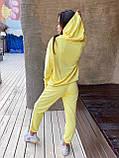 Костюм женский спортивный молодежный, высокое качество, стиль оверсайз, разные цвета р.хs, s, м, л Код 017И, фото 6