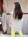 Ветровка осенняя коттон водооталкивающая свободного стиля, разные цвета р.М( 44-48), Л( 50-54) Код 018И, фото 6
