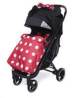 Прогулочная коляска Yoya Plus Pro Premium 2020 - детская коляска трость для путешествий, Минни Маус с бантиком