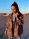 Ветровка осенняя коттон водооталкивающая свободного стиля, разные цвета р.М( 44-48), Л( 50-54) Код 018И, фото 7