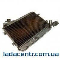 Радиатор охлаждения ВАЗ 2101,21011,2102 медно-латунный 2х рядн,Iran Radiator Co