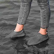 Силіконові водонепроникні чохли бахіли для взуття