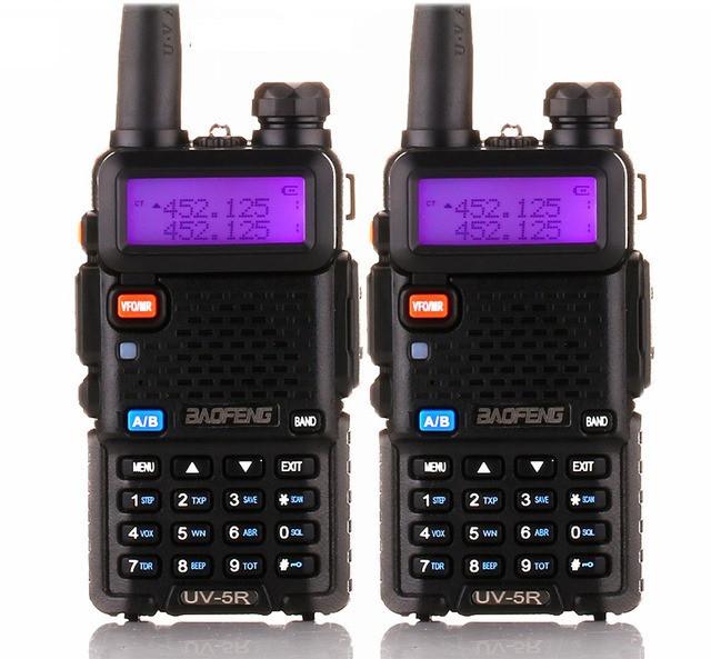 Комплект з двох портативних рацій Baofeng UV-5R