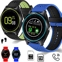 Смарт-часы SMART WATCH V9 (blue, black, red)