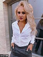 Женская стильная рубашка в офис школу Разные цвета, фото 1