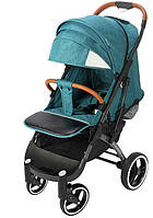 Прогулочная коляска Yoya Plus Pro Premium 2020 - детская коляска трость для путешествий, изумруд