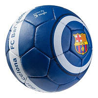 Футбольный мяч 5 размердля улицы БАРСЕЛОНА БАРСА BARCELONA Ручной шов Синий (GR4-437FCB/7)