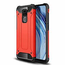 Чехол Guard для Xiaomi Redmi Note 9 бампер противоударный Red