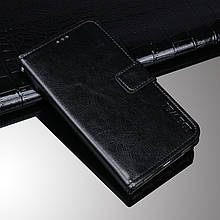 Чохол Idewei для Nokia 7 Plus книжка шкіра PU чорний