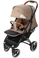 Прогулочная коляска Yoya Plus Pro Premium 2020 - детская коляска трость для путешествий, бежевый