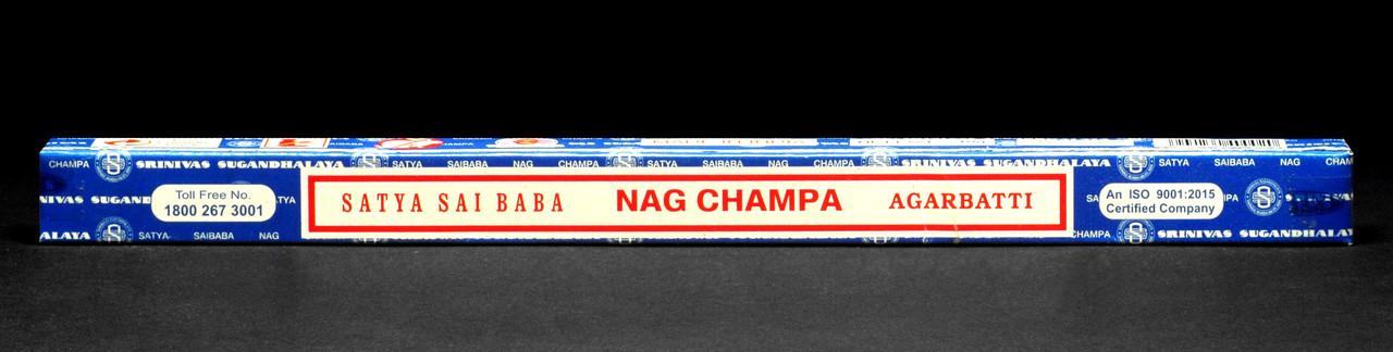 Натуральні пилкові пахощі Nag Champa (Нагчампа) від фірми Satyа(Сатья), 10 м