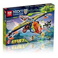 Конструктор LEPIN 14044 NEXO KNIGHTS - Аеро-арбалет Аарона (638 дит.), фото 1
