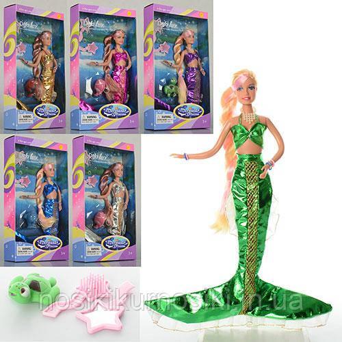 Кукла Defa Дефа 20983 Русалка, меняет цвет волос