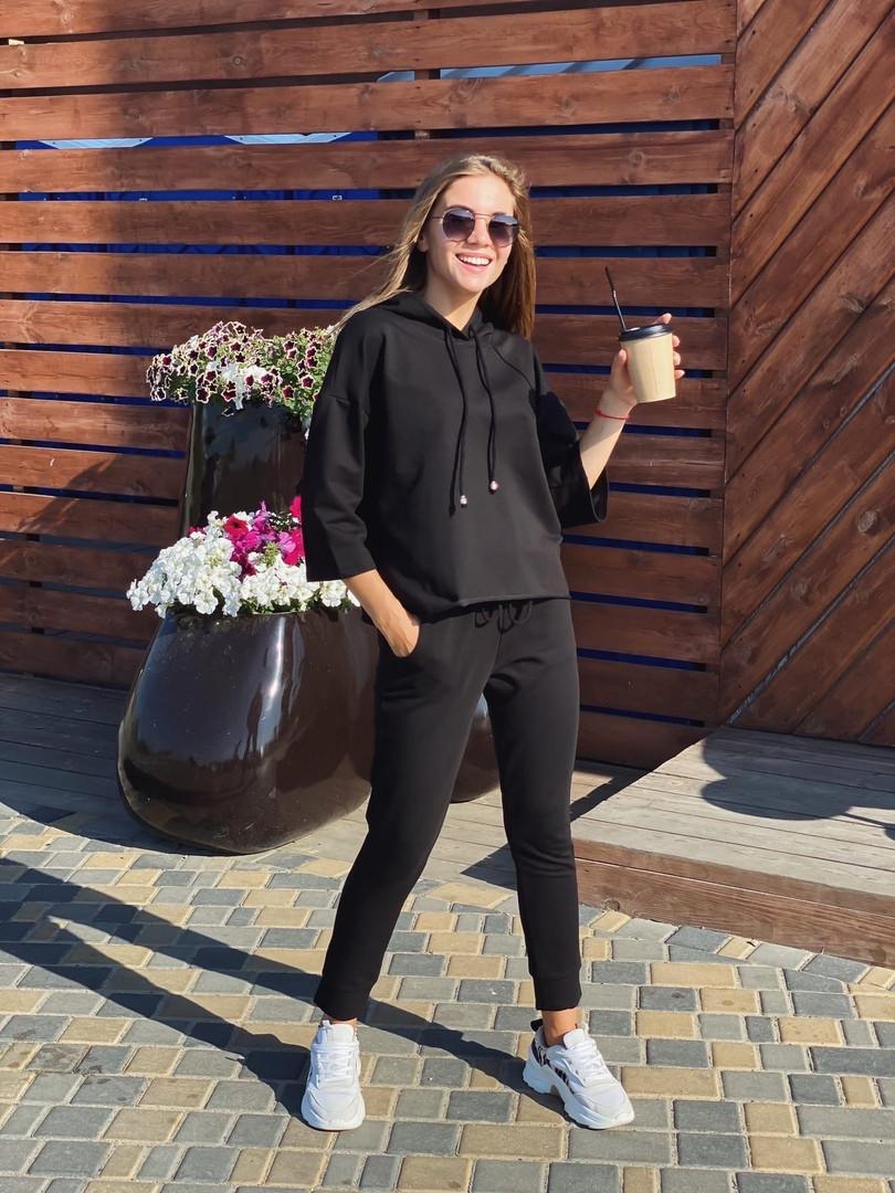 Женский спортивный костюм из двунитки 13-310