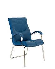 Кресло руководителя GERMES (Гермес) steel CFA LB chrome