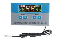 Цифровой термостат XH-W1400  три дисплея -19 ~ 99 °C 220V, фото 1