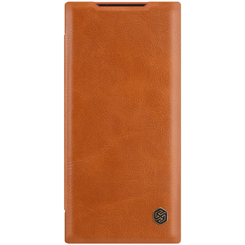 Nillkin Samsung Galaxy Note 20 Ultra Qin leather case Brown Чехол Книжка